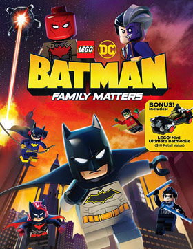 فيلم LEGO DC: Batman Family Matters 2019 مترجم