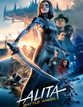 فيلم Alita Battle Angel 2019 مترجم