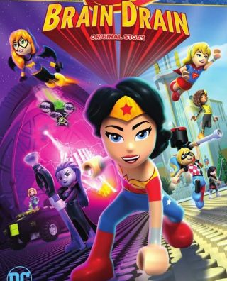 فيلم LEGO DC Super Hero Girls Brain Drain 2017 مترجم