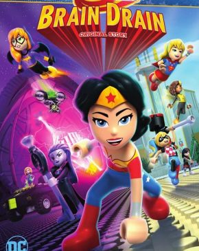 فيلم Lego DC Super Hero Girls: Brain Drain 2017 مترجم