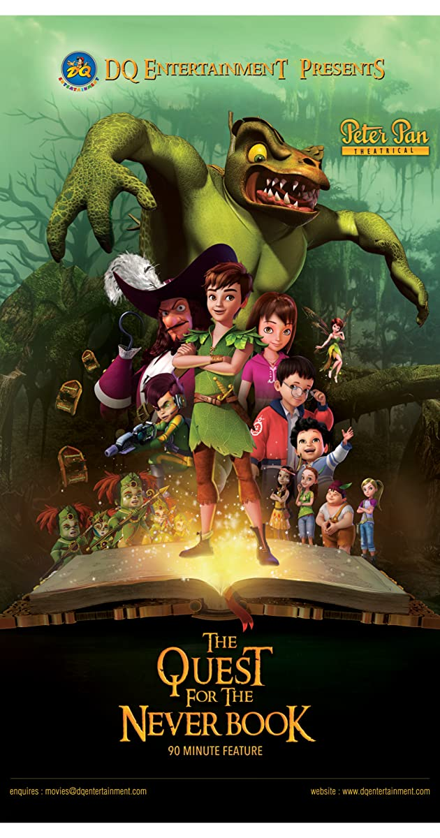 فيلم Peter Pan The Quest for the Never Book 2018
