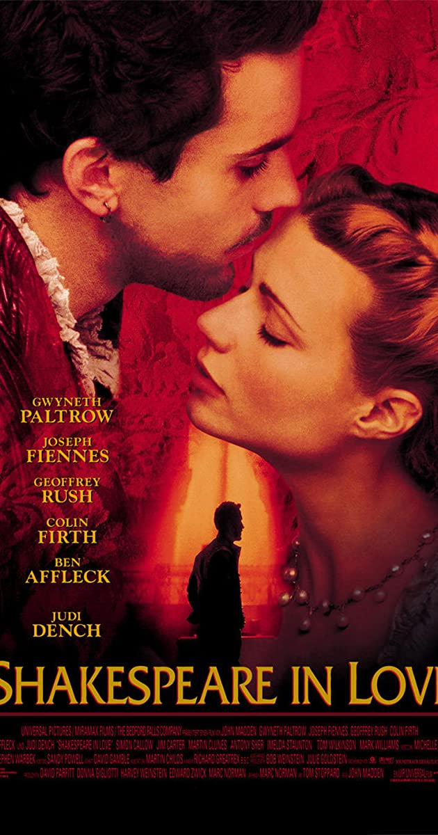 فيلم Shakespeare in Love 1998