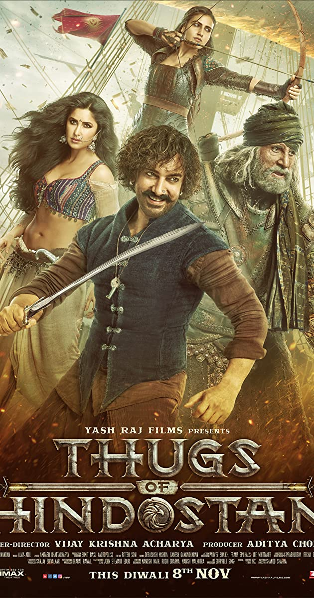 فيلم Thugs of Hindostan 2018