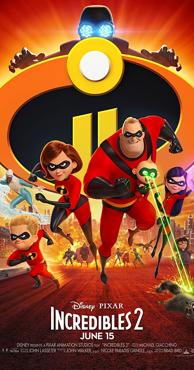 فيلم Incredibles 2 2018