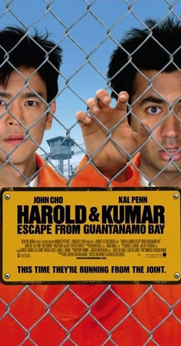 فيلم Harold & Kumar Escape from Guantanamo Bay 2008