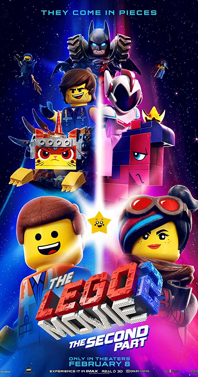 فيلم The Lego Movie 2: The Second Part 2019