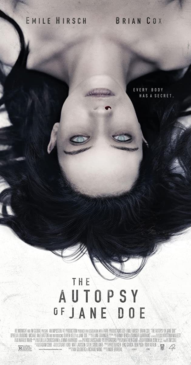 فيلم The Autopsy of Jane Doe 2016