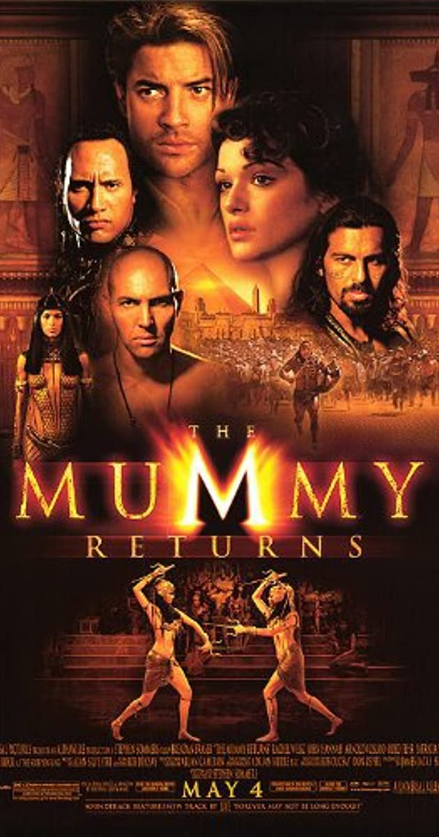 فيلم The Mummy Returns 2001