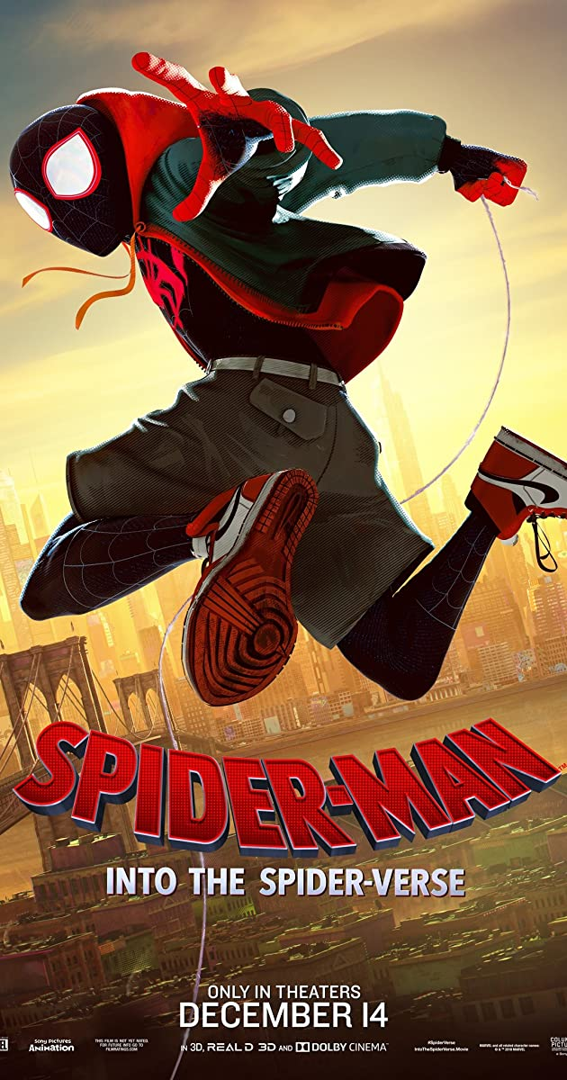فيلم Spider-Man: into the Spider Verse 2019