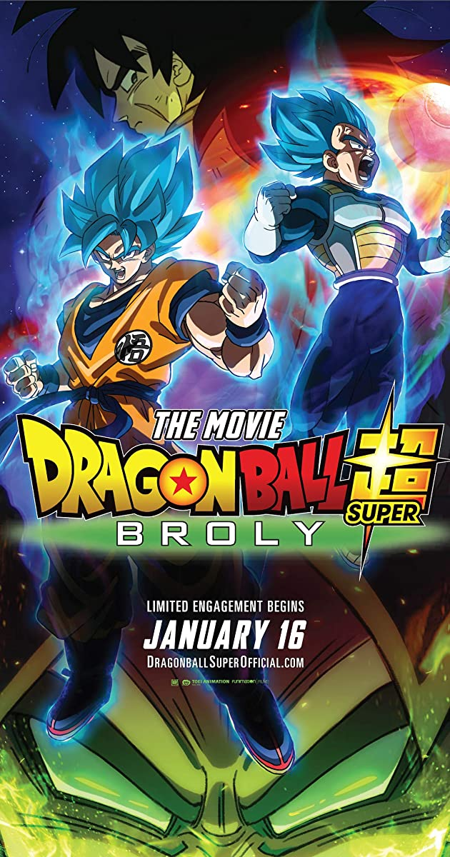 فيلم Dragon ball super: broly 2018