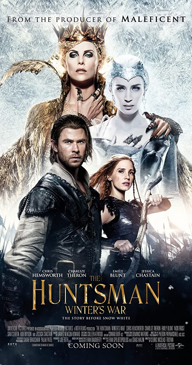 فيلم The Huntsman Winters War 2016