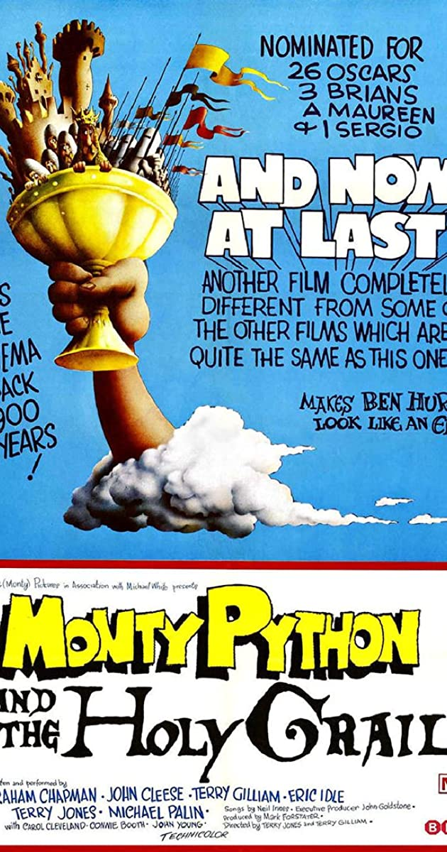 فيلم Monty Python And The Holy grail 1975