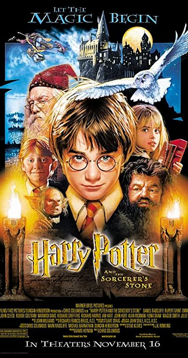 فيلم Harry Potter and the Sorcerer's Stone 2001