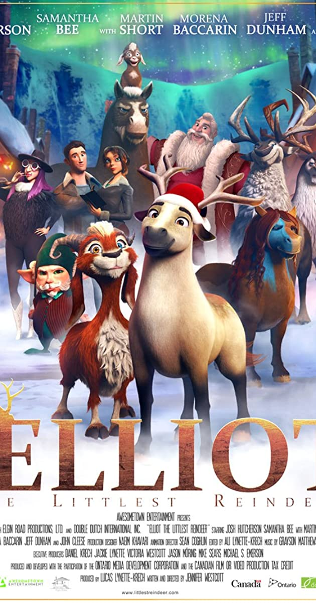 فيلم Elliot the Littlest Reindeer 2018