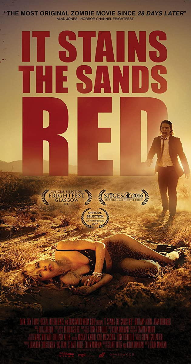 فيلم It Stains the Sands Red 2016