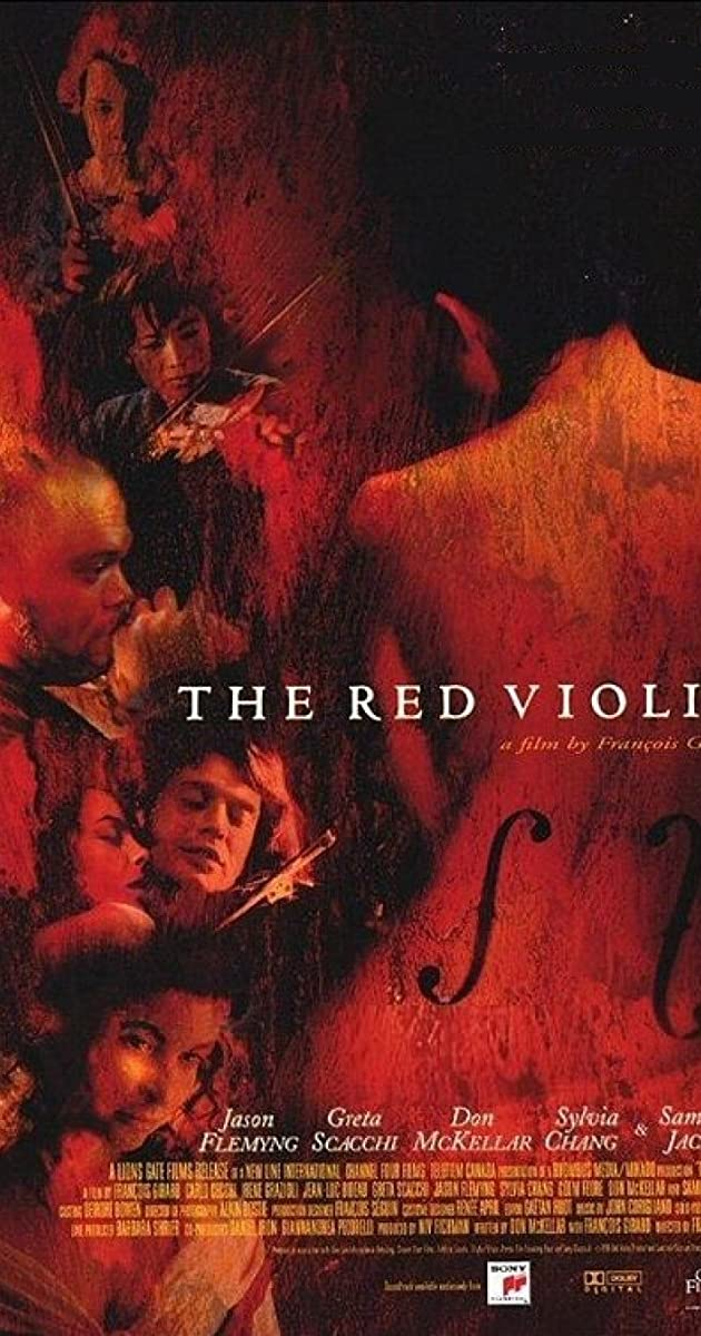 فيلم The Red Violin 1998