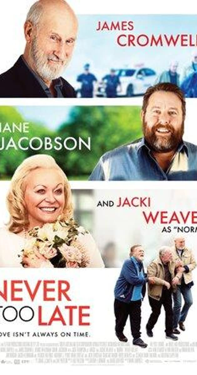 فيلم Never Too Late 2020