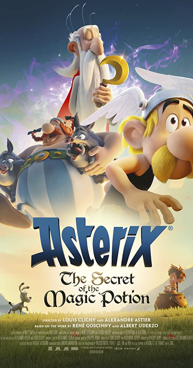 فيلم Asterix The Secret of the Magic Potion 2018