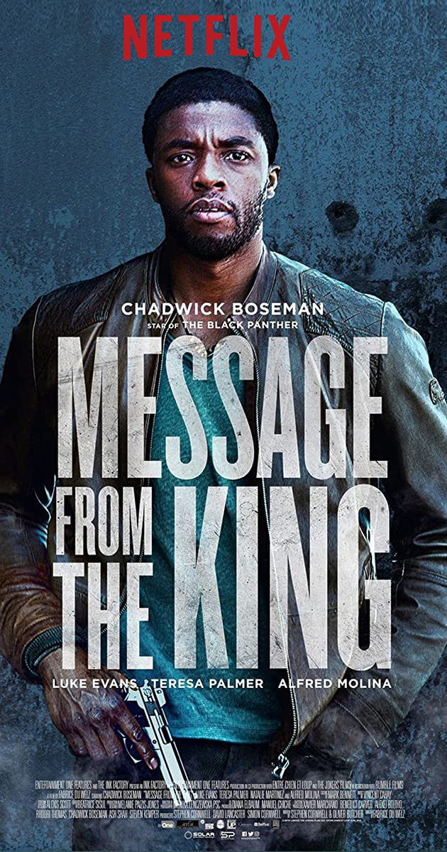 فيلم Message from the King 2016