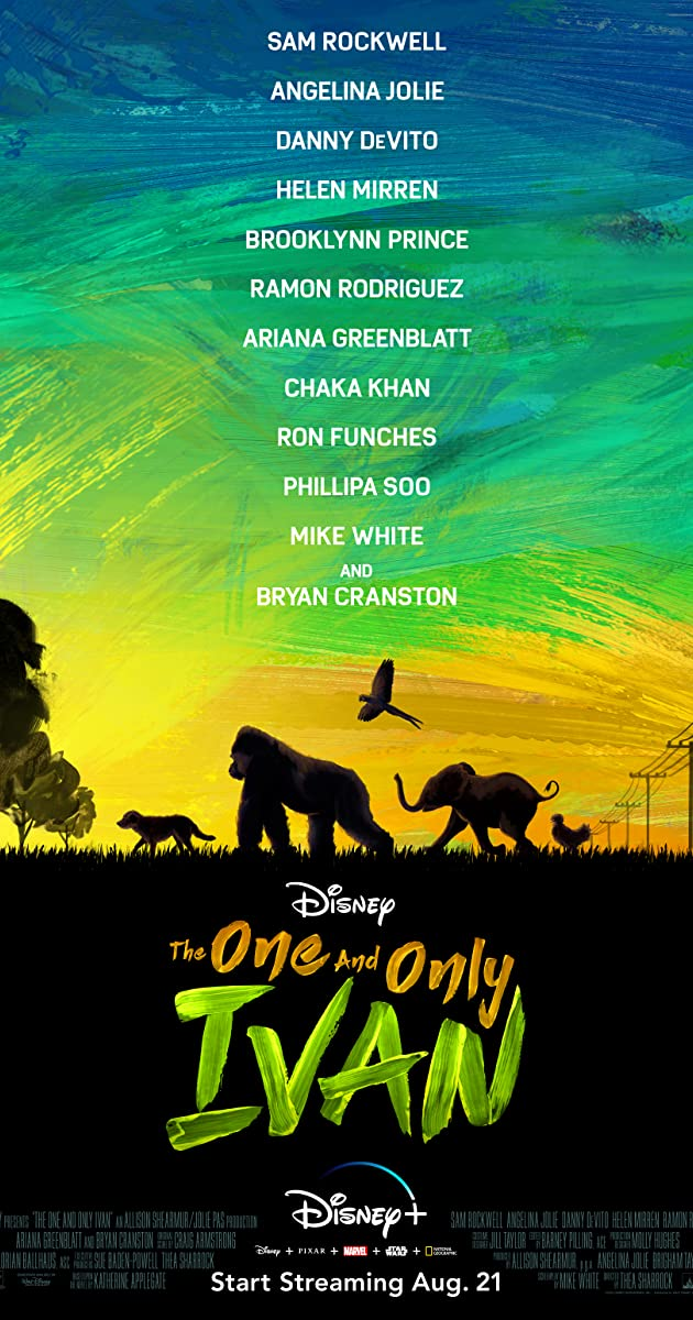 فيلم The One and Only Ivan 2020