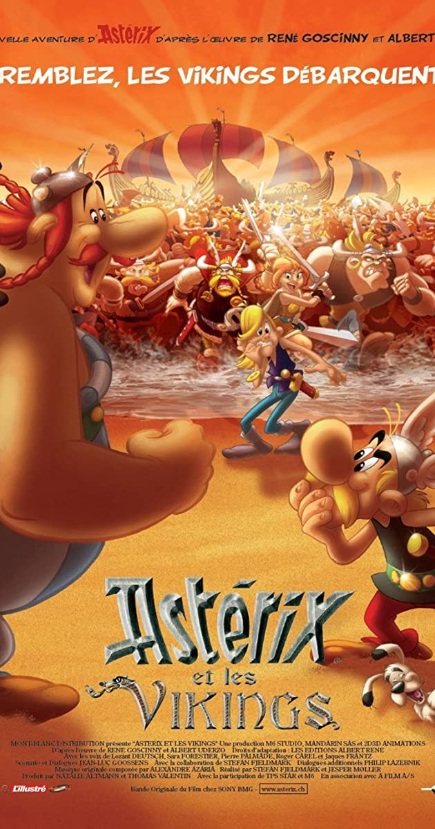 فيلم Asterix and the Vikings 2006