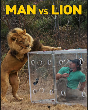 فيلم Man Vs Lion 2014 مدبلج