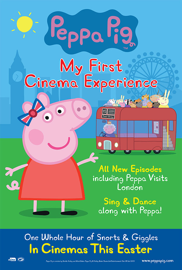 فيلم Peppa Pig: My First Cinema Experience 2017 مترجم