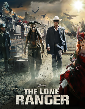 فيلم The Lone Ranger 2013 مترجم