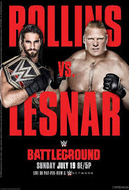 WWE BATTLEGROUND 2015 مترجم