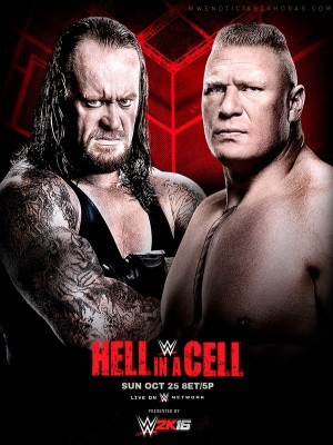 عرض WWE Hell In A Cell 2015 مترجم